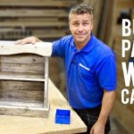 How to build a wall cabinet with pallets