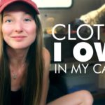 Clothes I Own in my 13ft Trailer