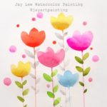 [LVL1] Easy Simple Flower Painting for Beginners