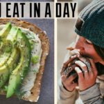 WHAT I EAT IN A DAY | Vegan (ish) Camping Food